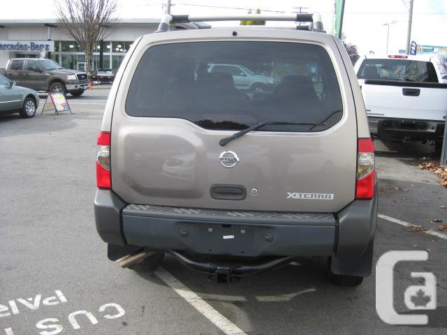 2003 nissan xterra for sale in victoria british columbia. Black Bedroom Furniture Sets. Home Design Ideas