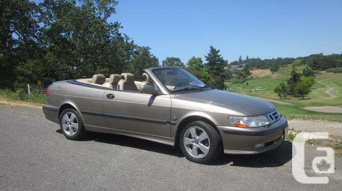 2003 saab 9 3 convertible extremely low kms for sale in victoria british columbia classifieds. Black Bedroom Furniture Sets. Home Design Ideas