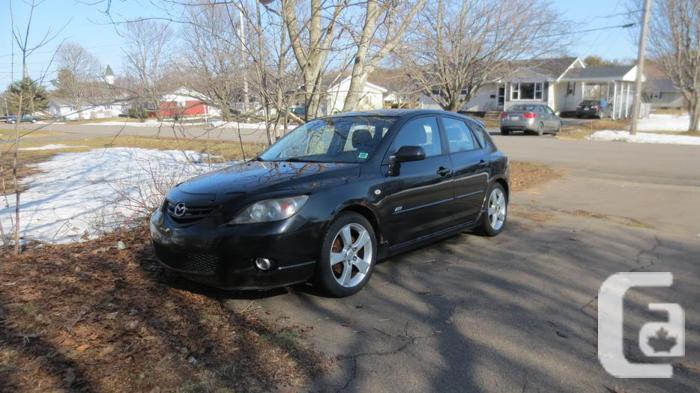 2004 Black Mazda 3