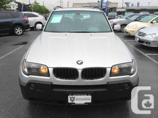 2004 bmw x3 900 for sale in calgary alberta. Black Bedroom Furniture Sets. Home Design Ideas