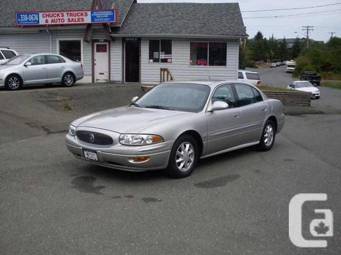 2004 buick lesabre share 2685 for sale in courtenay. Black Bedroom Furniture Sets. Home Design Ideas