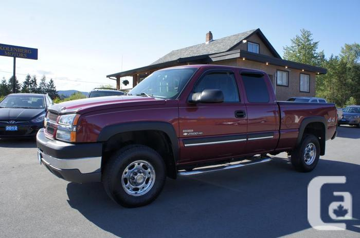 2004 chevrolet silverado 2500hd duramax diesel 4x4 excellent condition for sale in westholme. Black Bedroom Furniture Sets. Home Design Ideas