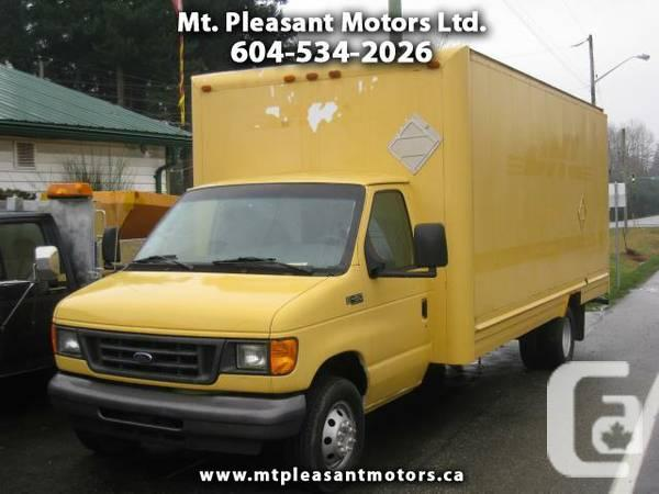 2004 Ford E-Series Van E-450 CUBE VAN 18 FT DIESEL -