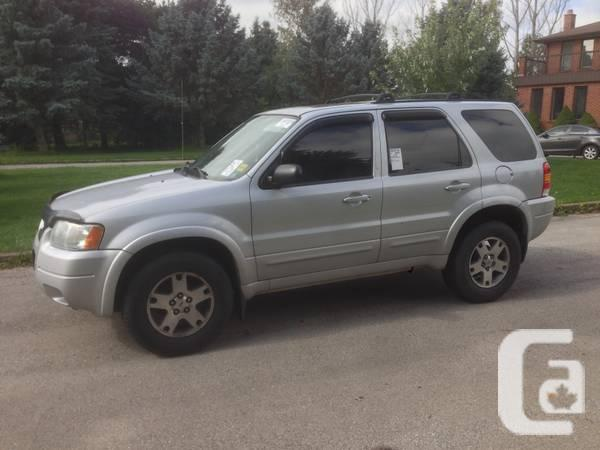 2004 Ford Escape Limited 4X4 - $1900