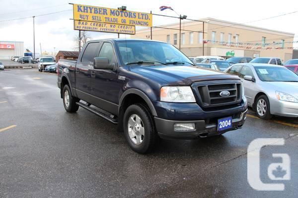 2004 Ford F-150---Khyber Motors LTD - $7450