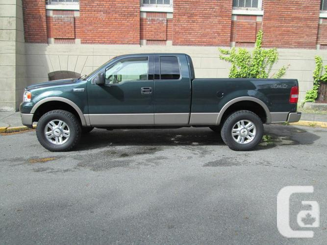 2004 ford f 150 lariat 4x4 on sale local vehicle. Black Bedroom Furniture Sets. Home Design Ideas