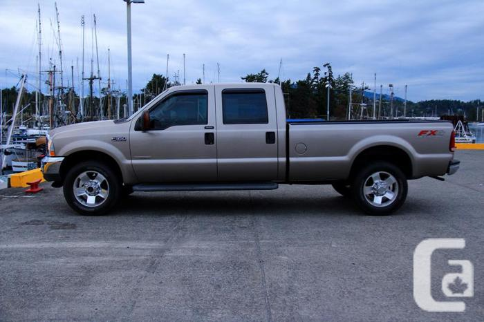 2004 ford f 350 f350 super duty lariat diesel fx4 4x4 crew cab long box for sale in sidney. Black Bedroom Furniture Sets. Home Design Ideas