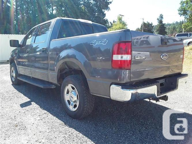 2004 ford f150 crew cab for sale in parksville british columbia classifieds. Black Bedroom Furniture Sets. Home Design Ideas