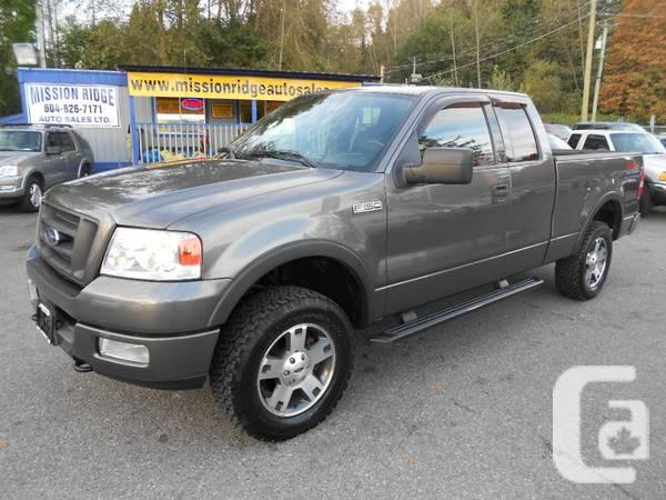 2004 ford f150 fx4 super cab 4x4 for sale in vancouver british columbia classifieds. Black Bedroom Furniture Sets. Home Design Ideas