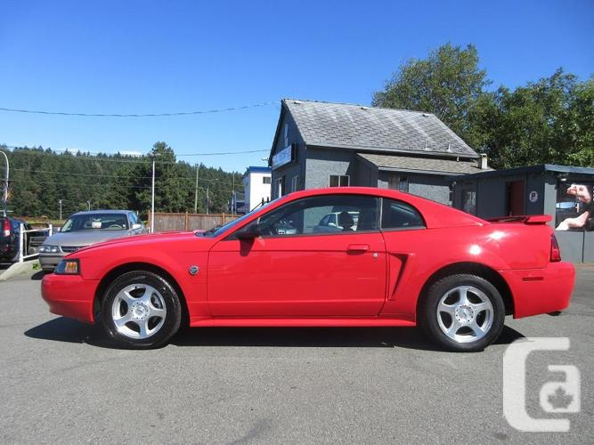 2004 ford mustang low km 39 s 40th anniversary edition for sale in nanaimo british columbia. Black Bedroom Furniture Sets. Home Design Ideas