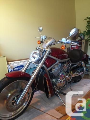 2004 Harley Davidson VRSC, V-Rod,only 785 kms,1150