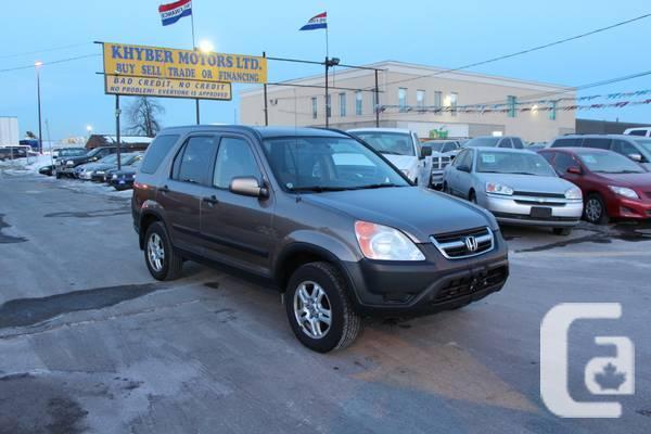 2004 Honda CR-V EX---Khyber Motors LTD - $6450