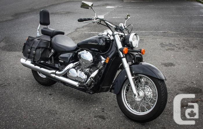 2004 honda shadow aero 750cc for sale in victoria british columbia classifieds. Black Bedroom Furniture Sets. Home Design Ideas