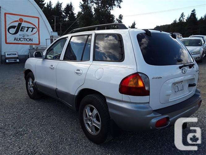 2004 Hyundai Santa FE 6 cyl FWD,  very clean interior!