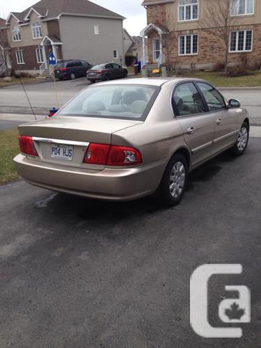 2004 Kia Magentis Sedan