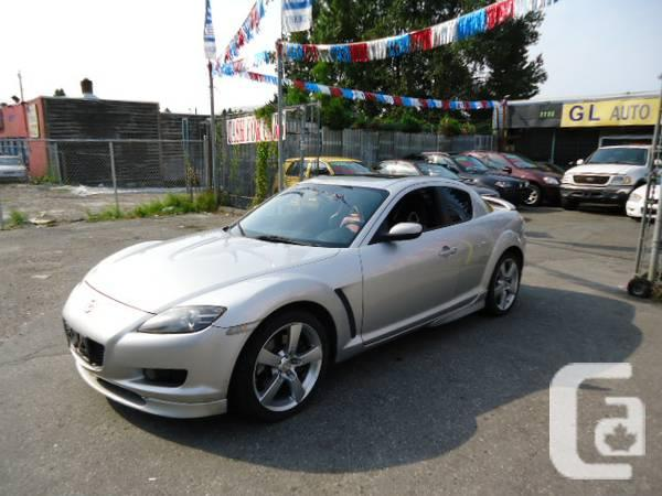 2004 Mazda Rx 8 Gt Quot Auto Paddle Shifter Spoiler Quot For