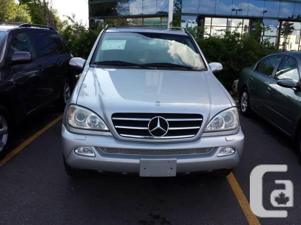 2004 mercedes ml500 - $8000