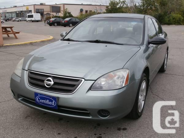 2004 NISSAN ALTIMA CERTIFIED E-TESED,1YEAR POWERTRIN