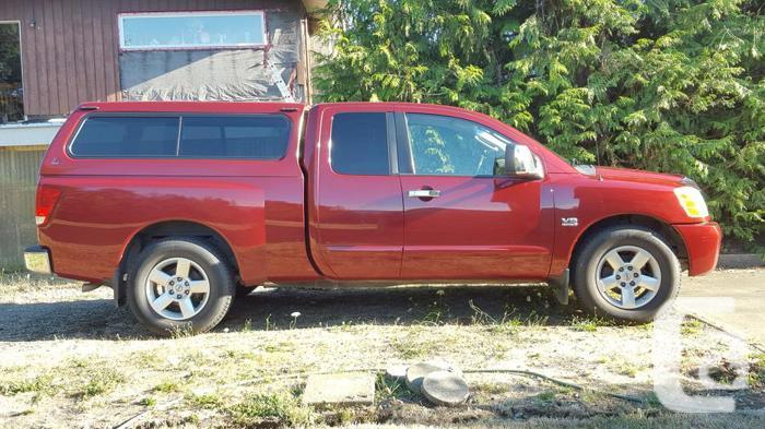 2004 Nissan Titan Pickup Truck King Cab
