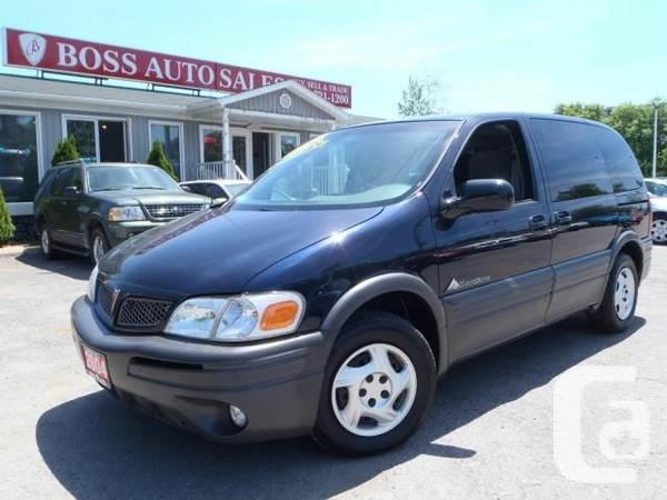 2004 Pontiac Montana Se - For Sale In Oshawa  Ontario Classifieds