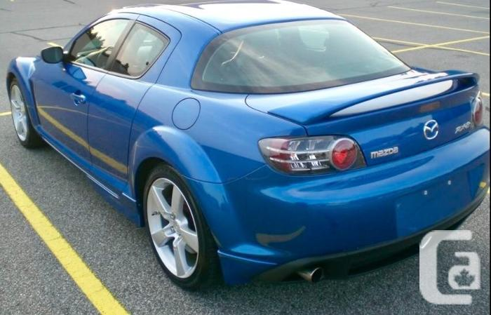 2004 RX-8 GT Leather & Sunroof 250-884-1324
