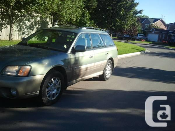 2004 Subaru Outback Limited Automatic AWD Hatchback -