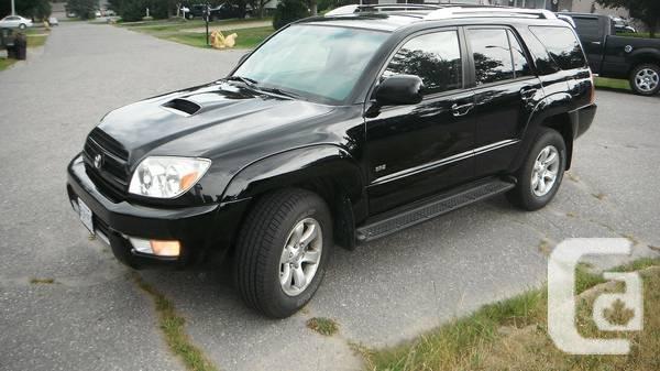 2004 Toyota 4-Runner - $10500