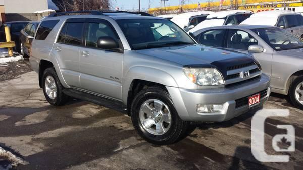 2004 Toyota 4Runner SR-5, Automatic, Sunroof, Licensed,