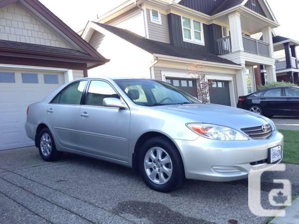 2004 toyota camry le v6 low mileage for sale in pitt meadows british col. Black Bedroom Furniture Sets. Home Design Ideas
