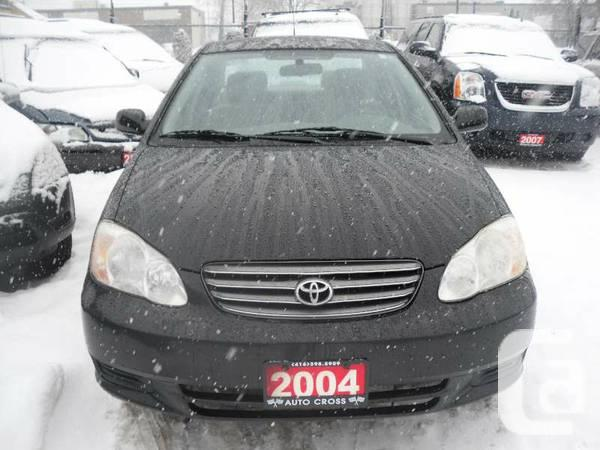 2004 Toyota Corolla LE, Automatic, 4 door, Certified ,