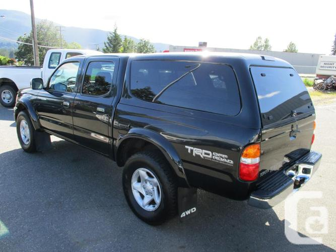 2004 toyota tacoma double cab 4x4 trd off road