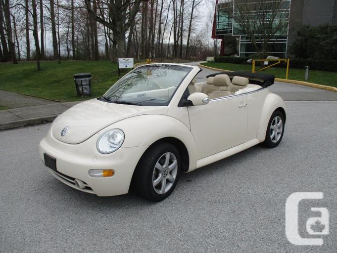 2004 Volkswagen Beetle GLS Turbo Convertible