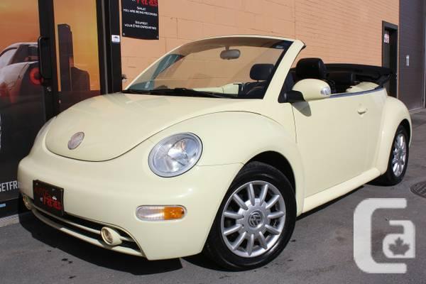 ☺2004 Volkswagen New Beetle Decapotable// ACCESSOIRES