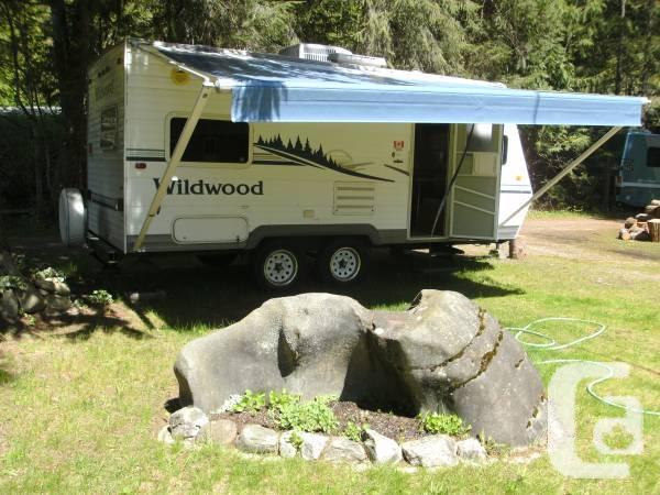 2005 19' Wildwood T19 travel truck - 00