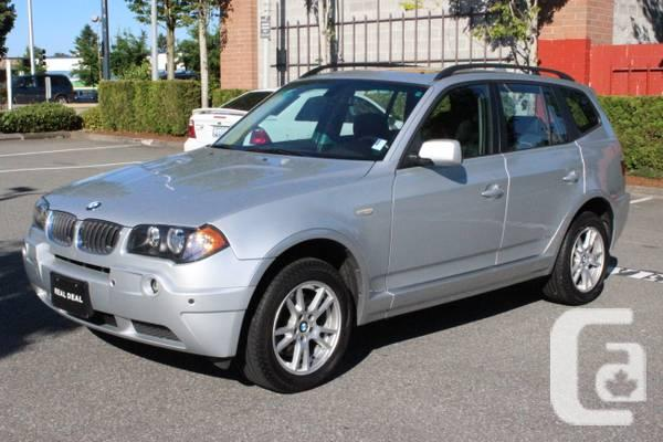 2005 bmw x3 2 5i awd local 106 000 kms must see for sale in surrey british columbia. Black Bedroom Furniture Sets. Home Design Ideas