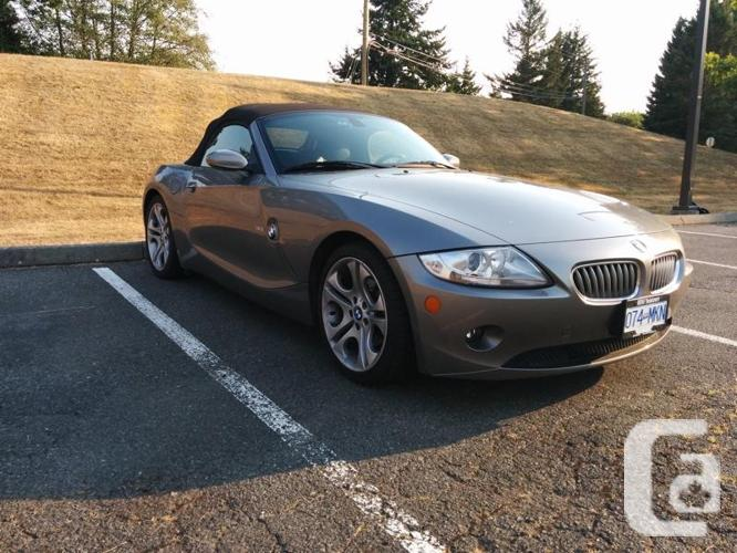 2005 bmw z4 for sale in shawnigan lake british columbia classifieds. Black Bedroom Furniture Sets. Home Design Ideas