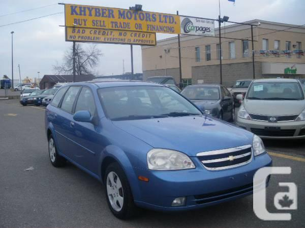 2005 Chevrolet Optra---Khyber Motors LTD - $3950