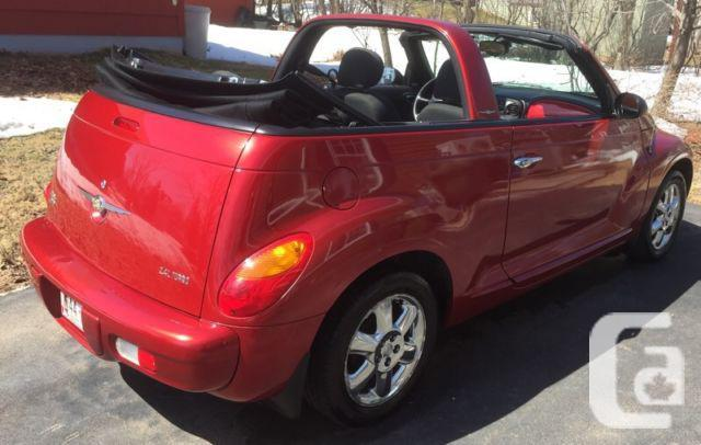 2005 Chrysler PT Cruiser Limited Edition Convertible