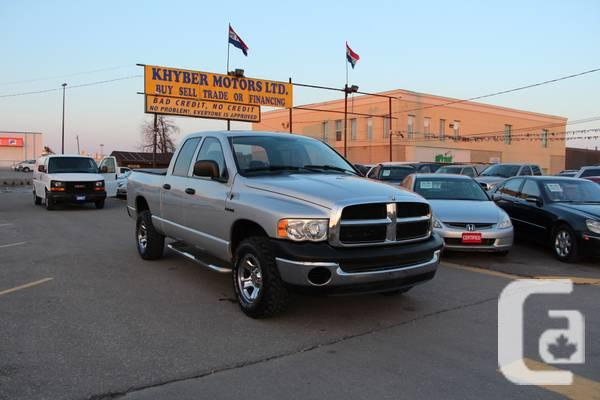 2005 Dodge Ram 1500---Khyber Motors LTD - $7450