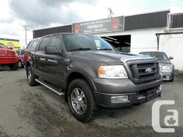 2005 Ford F150 Fx4 4x4 Crew Cab For Sale In Langley