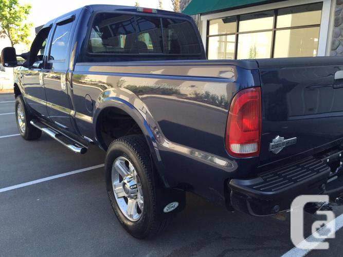 2005 ford f350 harley davidson diesel for sale in gibsons british columbia classifieds. Black Bedroom Furniture Sets. Home Design Ideas