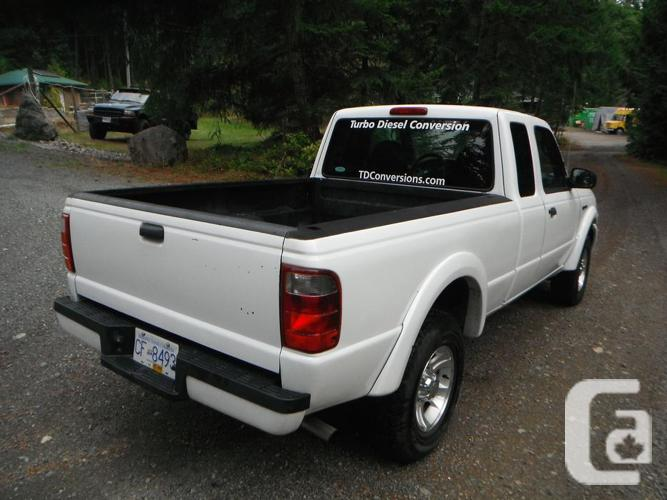2005 ford ranger turbo diesel conversion for sale in nanaimo british columbia classifieds. Black Bedroom Furniture Sets. Home Design Ideas