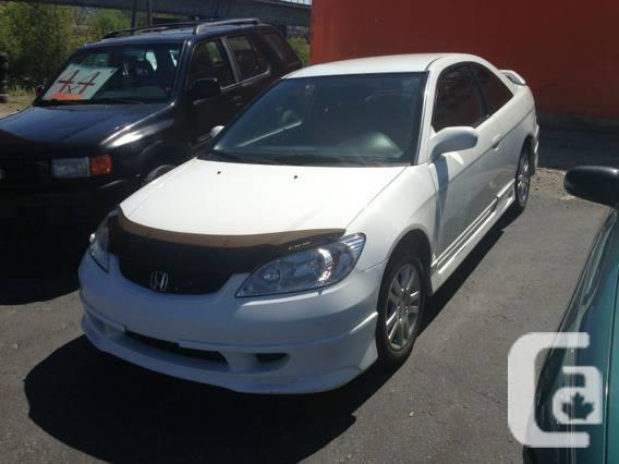 2005 honda civic special edition reverb stock body kit 2 10 inch subs   for sale in vancouver