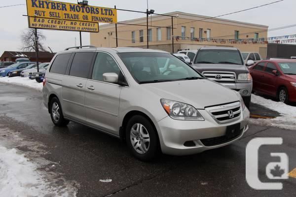 2005 Honda Odyssey EX-L---Khyber Motors LTD - $8950