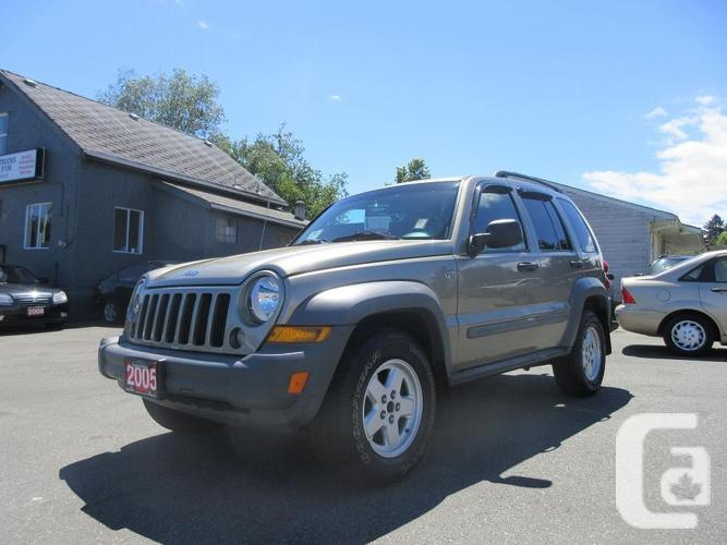 2005 jeep liberty 4x4 4 door suv for sale in nanaimo. Black Bedroom Furniture Sets. Home Design Ideas