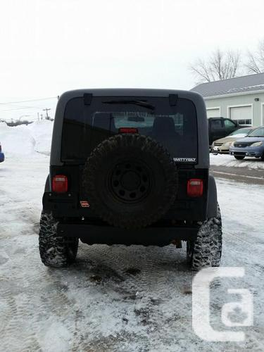 2005 Jeep TJ Rubicon Lifted 33's lockers many