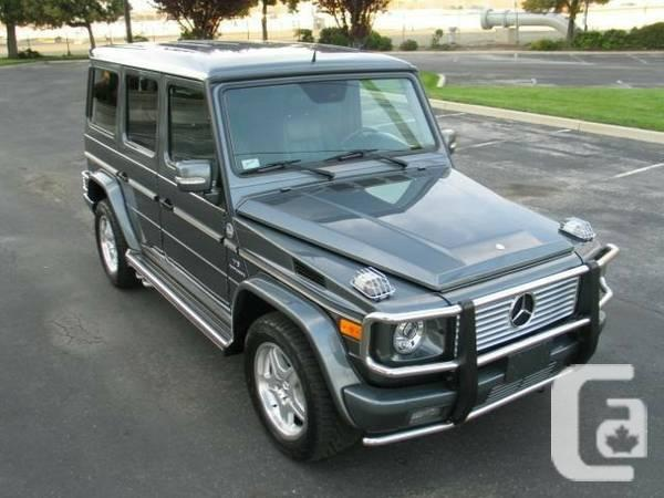 2005 Mercedes-Benz G-Class 4MATIC 4dr 5.5L AMG with
