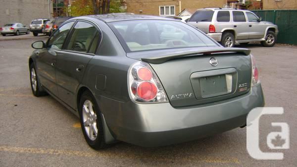 2005 Nissan Altima 2.5S EXTRA Sedan - $3495