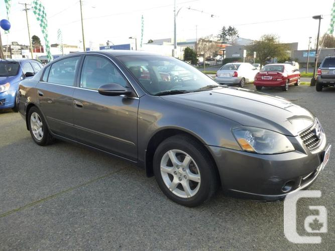2005 nissan altima for sale in victoria british columbia classifieds. Black Bedroom Furniture Sets. Home Design Ideas