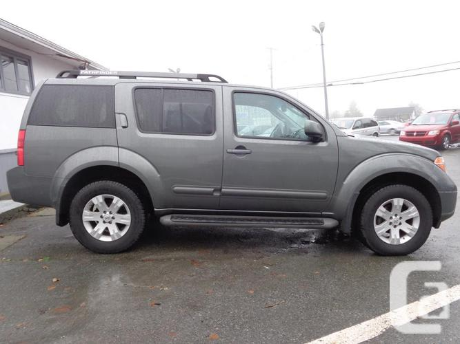 2005 nissan pathfinder 4x4 le 141 000 kms for sale in nanaimo british columbia classifieds. Black Bedroom Furniture Sets. Home Design Ideas